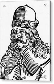 Vlad Tepes Dracula Acrylic Print