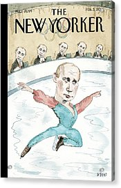 Jury Of His Peers Acrylic Print by Barry Blitt