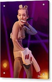 Vma Miley Acrylic Print