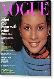 Vogue Cover Featuring Beverly Johnson Acrylic Print
