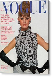 Vogue Cover Featuring Jean Shrimpton Acrylic Print