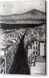 Void City Acrylic Print by Kostas Koutsoukanidis