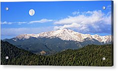 Volcanic Pikes Peak Acrylic Print