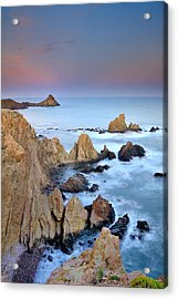 Volcanic Planet Acrylic Print by Guido Montanes Castillo