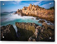 Volcanic Rock 6 Acrylic Print by Nhiem Hoang
