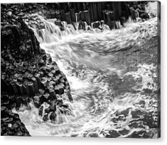 Volcanic Rocks And Water Acrylic Print