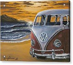 Volksagen Bus Acrylic Print