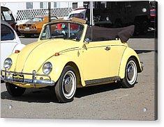 Volkswagen Convertible Vintage Acrylic Print