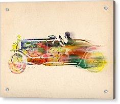 Volkswagen Acrylic Print by Mark Ashkenazi