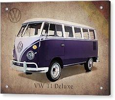 Volkswagen T1 Bus Acrylic Print