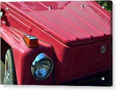 Volkswagen Thing Acrylic Print by Michelle Calkins