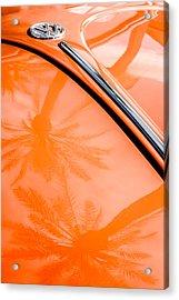 Volkswagen Vw Bug - Beetle Emblem -0164c Acrylic Print