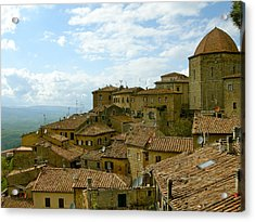 Acrylic Print featuring the photograph Volterra by Victoria Lakes