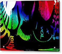 Volume Control Acrylic Print