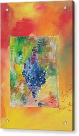 Voluptuous Acrylic Print by PainterArtist FIN