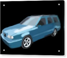 Volvo T5 Estate Acrylic Print by Tony Stark