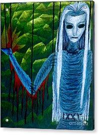 Voodoo II The Effects Of Voodoo Acrylic Print by Coriander  Shea
