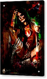 Voodoo U Acrylic Print
