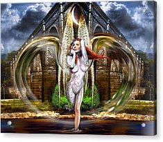 Vortex Of Existence Acrylic Print