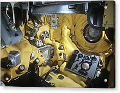 Voskhod 1 Spacecraft Cabin Acrylic Print by Science Photo Library