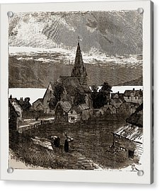 Vossevangen, Norway Acrylic Print by Litz Collection