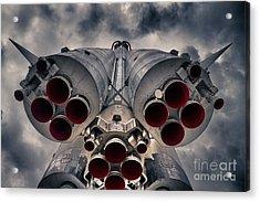 Vostok Rocket Engine Acrylic Print