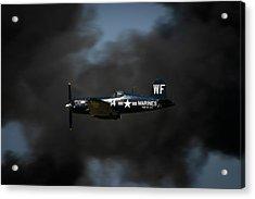 Vought F4u Corsair Acrylic Print