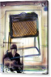 Vox And George Acrylic Print by Russell Pierce