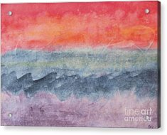 Acrylic Print featuring the photograph Voyage by Susan  Dimitrakopoulos
