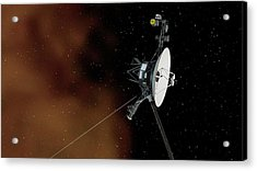 Voyager 1 Acrylic Print by Nasa/jpl-caltech