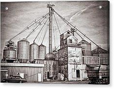 Voyces Mill Acrylic Print by Sennie Pierson