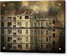 Voyeur Acrylic Print by Taylan Apukovska