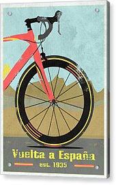 Vuelta A Espana Bike Acrylic Print by Andy Scullion