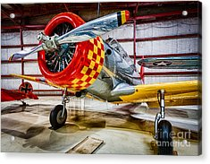 Vultee Valiant Acrylic Print by Inge Johnsson
