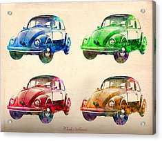 Vw 2 Acrylic Print by Mark Ashkenazi