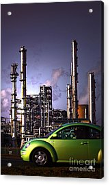 Acrylic Print featuring the photograph Vw Beetle by Craig B
