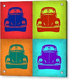 Vw Beetle Pop Art 5 Acrylic Print by Naxart Studio
