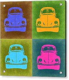 Vw Beetle Pop Art 6 Acrylic Print