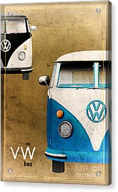 Vw The Bus Acrylic Print by Tim Gainey