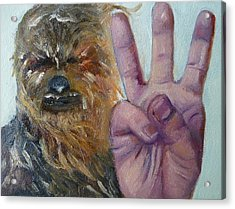 W Is For Wookie Acrylic Print