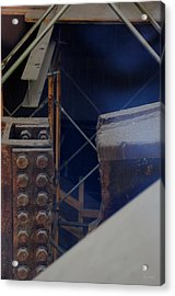W T C Steel  Acrylic Print by Rob Hans