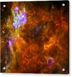 W3 Nebula Acrylic Print