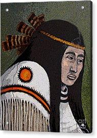 Wabanaki Warrior Acrylic Print