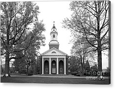 Wabash College Chapel Acrylic Print by University Icons