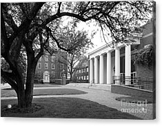 Wabash College Sparks Center Acrylic Print by University Icons