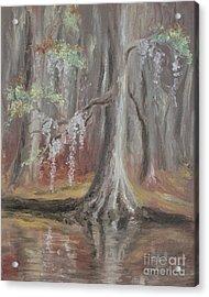 Waccamaw River Cypress Acrylic Print