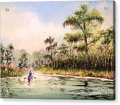 Wacissa River  Acrylic Print