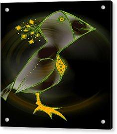 Wacko Bird Acrylic Print by Josephine Ring