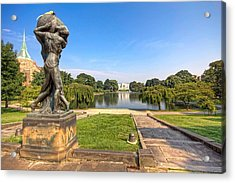 Acrylic Print featuring the photograph Wade Lagoon by Brent Durken