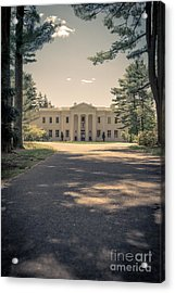 Wadsworth Mansion Middletown Connecticut Acrylic Print by Edward Fielding